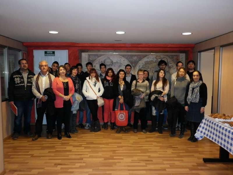Visita a Beroni Informàtica de 24 joves de la comarca, per a conèixer la iniciativa de la nostra empresa