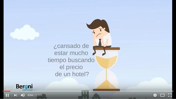 ¿Cansado de invertir mucho tiempo buscando el precio de un hotel?