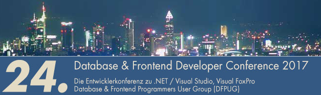 Visita Congreso Database and Frontend Developer 2013 en Frankfurt