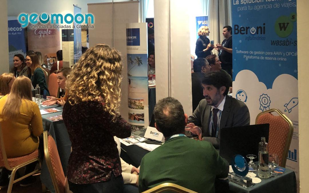 Beroni, present a la convenció anual de Geomoon