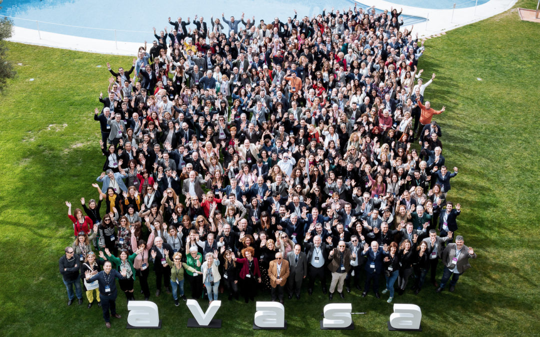 El equipo de Beroni en la 23ª Convención anual de AVASA