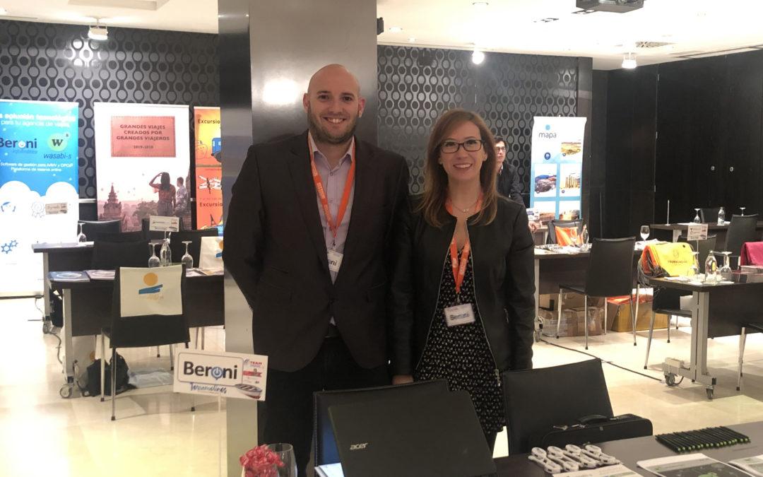 Beroni asiste a la XIII Convención Team Group en Torremolinos
