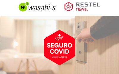 Seguro médico COVID incluido en las reservas de hotel de Restel en Wasabi-s